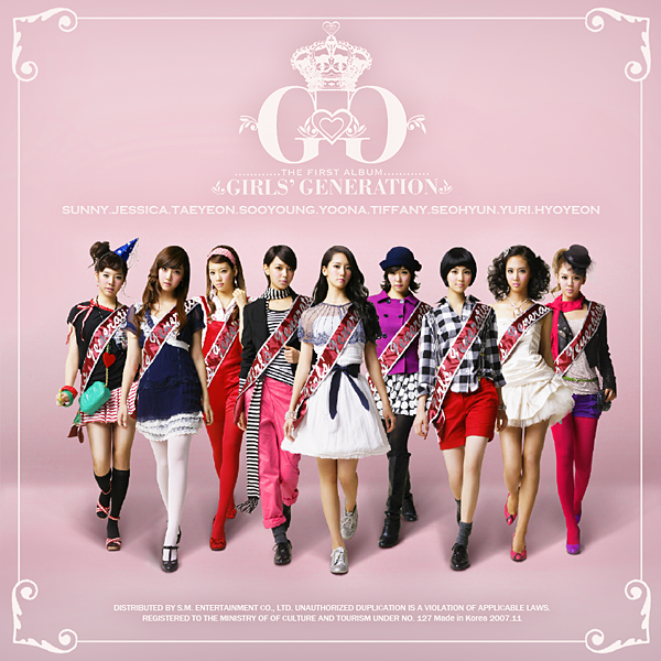 GIRLS GENERATION / JAPAN 1st ALBUM (少女時代 / 日本 ファースト オリジナル
