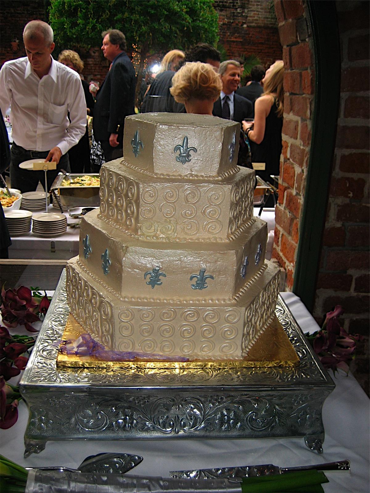 Mousse Filled Goodness Best Tasting Wedding Cake Ever Hands Down New Orleans La