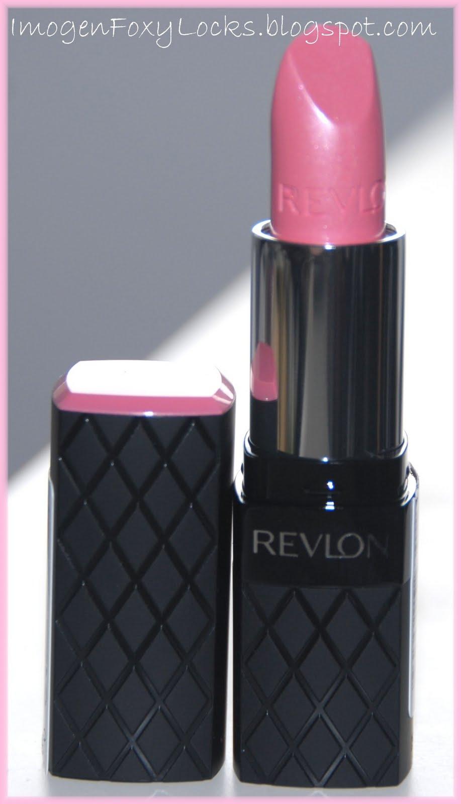 Imogen Foxy Locks: Revlon Colorburst Lipstick Swatches Review