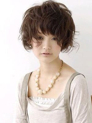 Groovy Digital Perm Pictures And Information Japanese Perm On Short Hair Short Hairstyles Gunalazisus