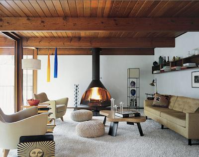 Scandinavian Retreat Retro Cabin