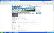 Website Kadayan Universe