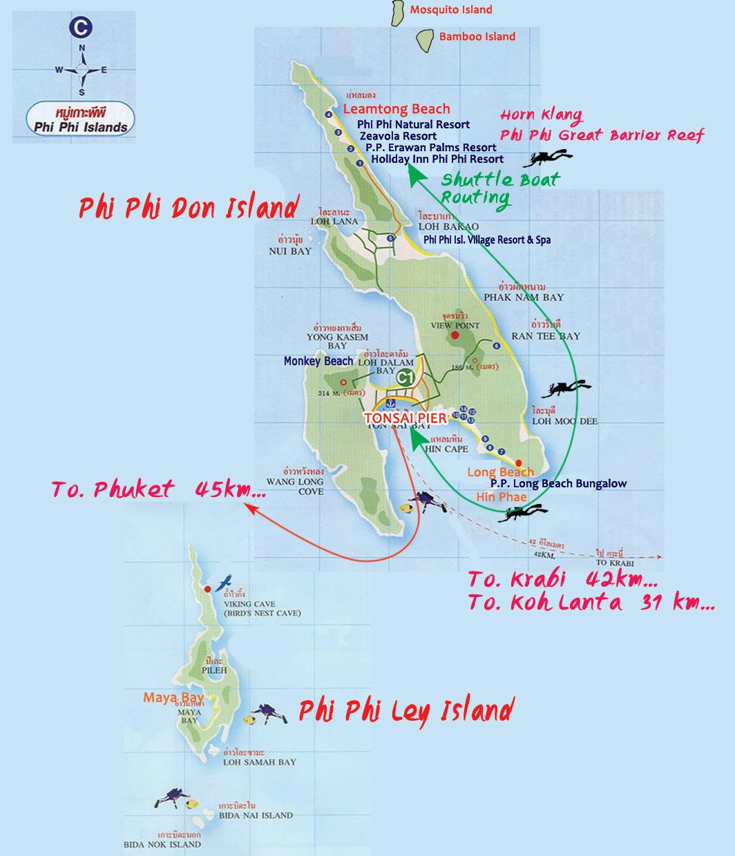 Phi Phi Island Cabana Hotel: Phi Phi Island Blog By Andaman Wave Master