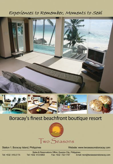 Deliciously Relaxing At Two Seasons Boracay Pinay Ads A