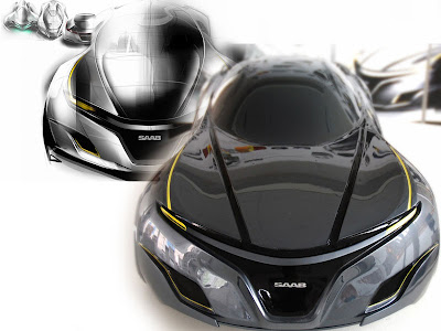 Saab Sports Cars Sedan Concept By Youngho Jong Design For 2025