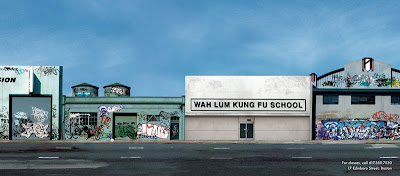 photo of a kung fu school without graffiti