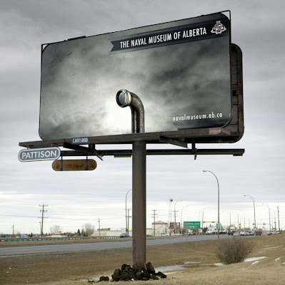 photo of an interesting billboard