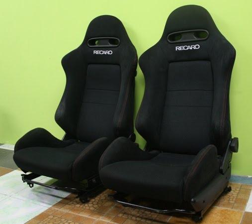 Dingz Garage: Seat Black Recaro Honda Integra DC5 Type R