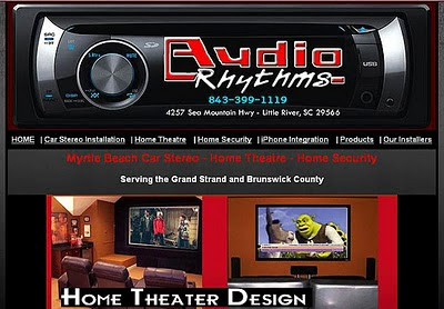 Audio Rhythms Home Theatre in Myrtle Beach