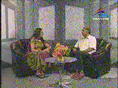 கே. சீனிவாசனுடன் இமயம் டி.விக்காக உரையாடுபவர் ஷில்பா