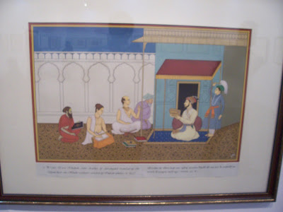 aurangazeb elder borther Dara Shukoh discussing with Vedid Scholars