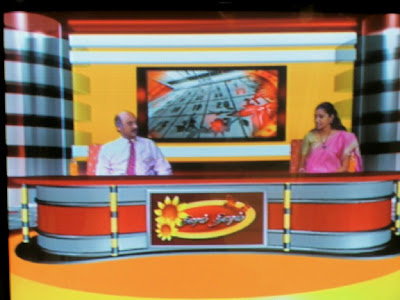 live telecast in Raj TV on soft skills of k. srinivasan