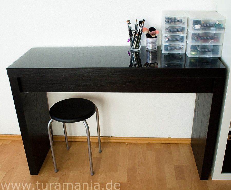 ikea malm frisiertisch schminktisch wei. Black Bedroom Furniture Sets. Home Design Ideas