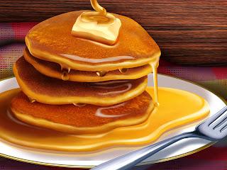 Resep Pancake Enak Mudah Lembut Sederhana Praktis Empuk Keju Kraft dan Susu Frisian Flag Kental Manis