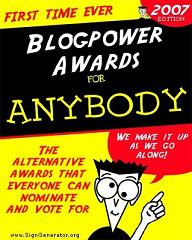 Blogpower Awards 2007