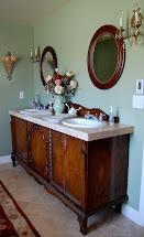 Elegant Vintage Master Bathroom Makeover