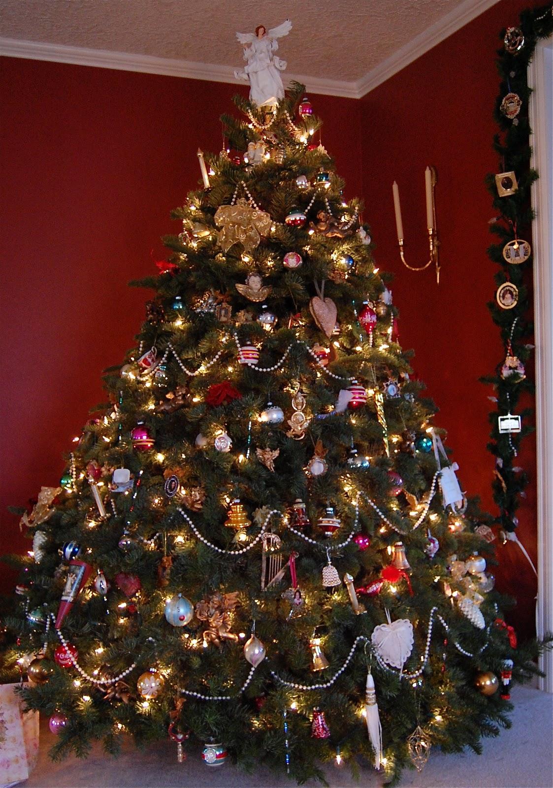 Brand New Saltbox Treasures A Victorian Christmas Tree El84