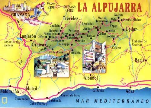 Mapa De La Alpujarra.La Danza Que Mueve El Alma Como Llegar Mapa Y Vistas Desde