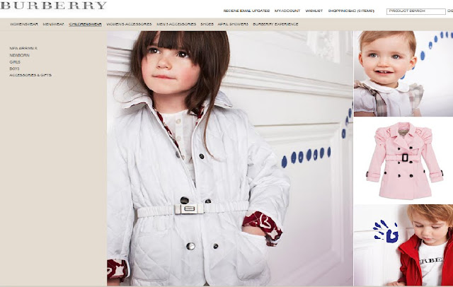 Burberry Baby en Kids