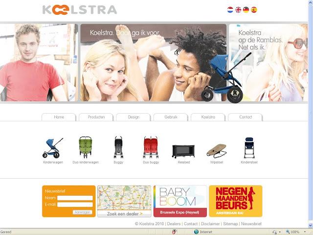 Nieuwe website Koelstra