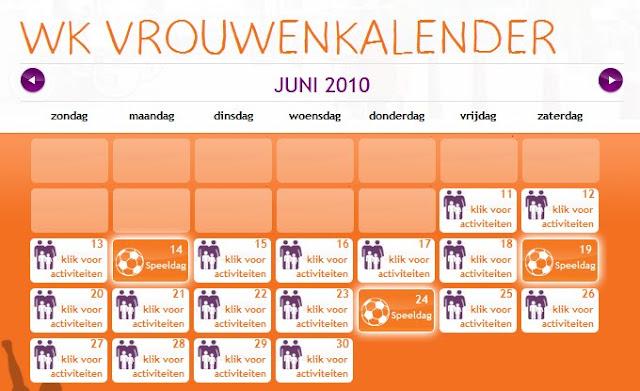Prénatal vrouwenkalender