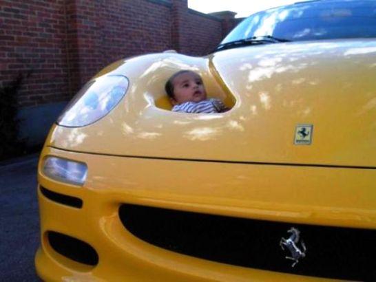 Kinderwagen Ferrari F50