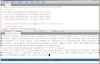 Emacs mode line color custimization - SaltyCrane Blog