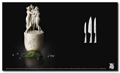 wmf ad campaign carved vegetables