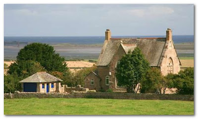 house for sale overlooking lindisfarne
