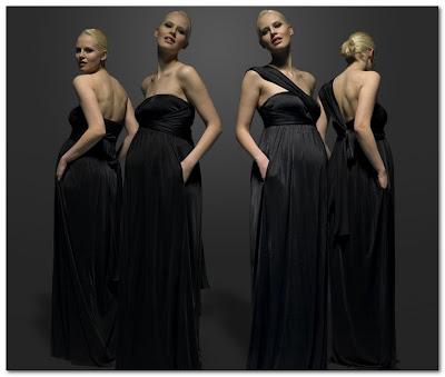 Isabella Olive evening dress