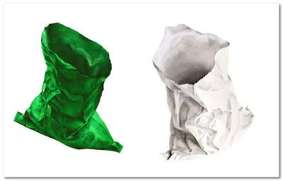 Miles Thistlethwaite Artist paper bags