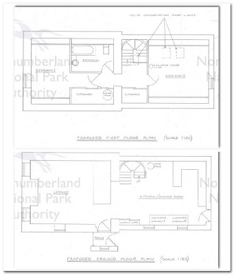 plans for cottage extension