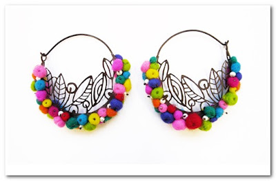 Polly Wales earrings