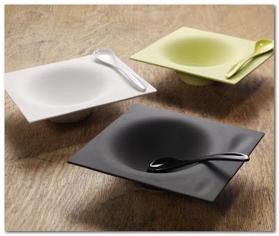 soup bowls and spoons Benjamin Hubert