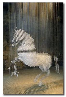 stella mccartney crystal horse