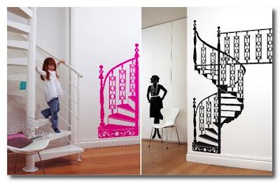 Sofia Antonovich decal spiral staircase