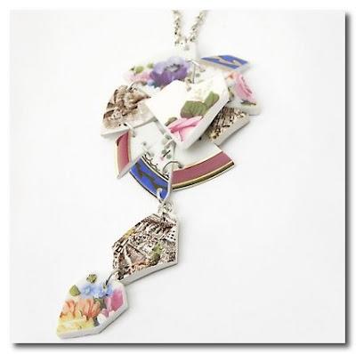 Mariella di Gregorio broken china jewelry