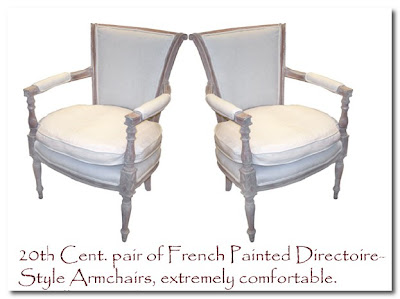 coc vintage french chairs