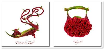 Michel Tcherevkoff shoe fleur