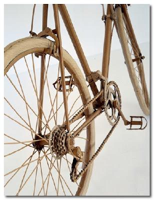 cardboard bike by chris gilmour