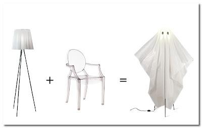 5.5 designers ghost lamp