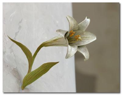 wood flowers by Yoshi Hirosuda