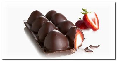 chocolate strawberries by j crochoux