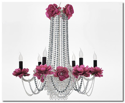 chandelier from merry cristal