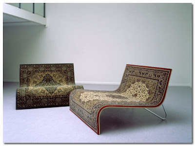 rug chairs by maad