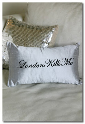 london kills me cushion