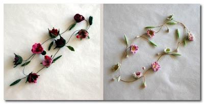felt flowers by ulrika ay