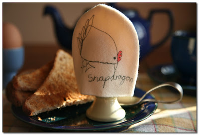 egg cosy by snapdragon garden