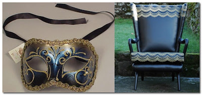 black leather and gold chair ghost furniture