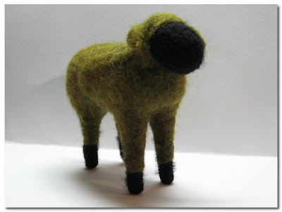 needle felt by Roselane Studio at Etsy